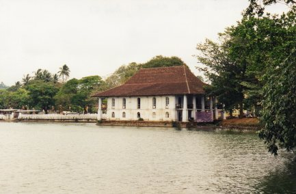 Bathing House on Kandy Lake