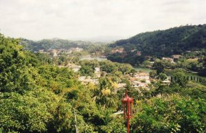 First View of Kandy - from Chalet Hotel