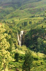 Waterfall near Ramboda