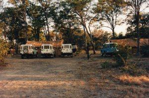 SEMG camp car park