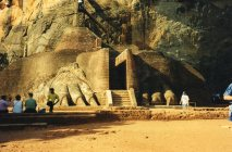 Sigiriya - between the paws