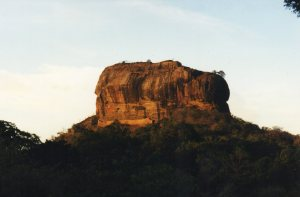 Sunset at Sigiriya