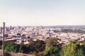 Harare from the south west