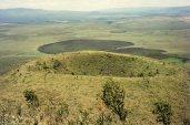 Mt Longonot - line of volcanoes