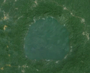 Bosumtwi - Google Earth