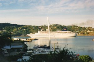 Ship in Castries