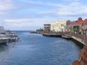 Barbados Careenage - the main harbour in Bridgetown